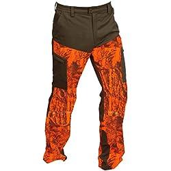 Gamo Outdoor Serrano Pantalon, Homme M Orange - Camouflage