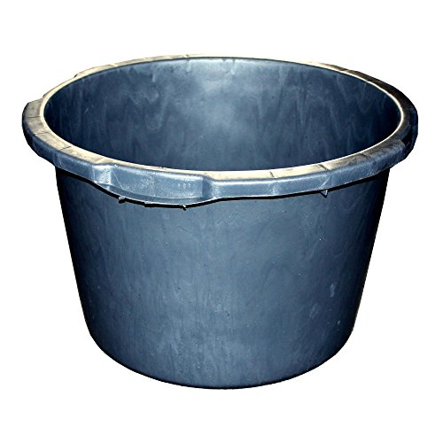 MÖRTEL-KÜBEL 'Jopa' 65,0 l, schwarz, Skalierung