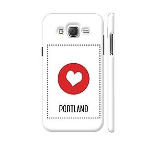 Colorpur I Love Portland Designer Mobile Phone Case Back Cover For Samsung Galaxy J5 | Artist: Torben