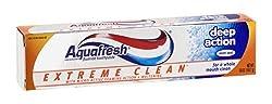Aquafresh Extreme Clean Deep Action Mint Zest Toothpaste, 5.6oz Each