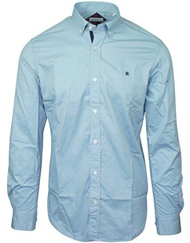 Serge Blanco-Camicia Oxford Serge Blanco Blu blu XXL