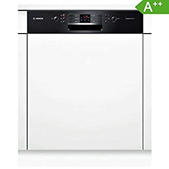Bosch SMI53L86EU Semi intégré 12places A++ lave-vaisselle - Lave-vaisselles (Semi intégré, Noir, boutons, 1,75 m, 1,65 m, 1,9 m)