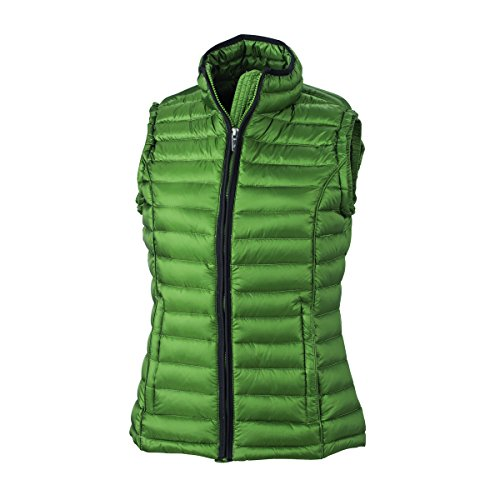 JAMES & NICHOLSON -  Gilet  - Basic - Donna vert jungle