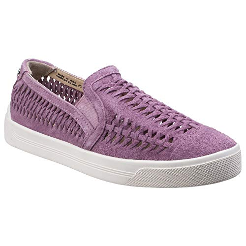 Hush Puppies Womens/Ladies Gabbie Casual Woven Suede Slip-On Shoe