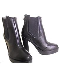Diesel - Zapatos de vestir para mujer negro negro 40