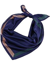 Vivianu 70x70cm Moda Para Mujer De Seda Suave Bufandas Largas Y Cuadradas  De Color Sólido Cuello f0157d87fd8
