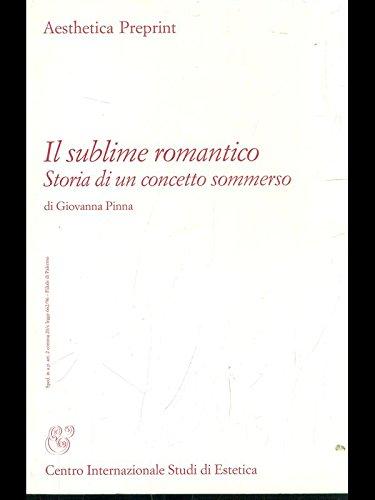 Il sublime romantico