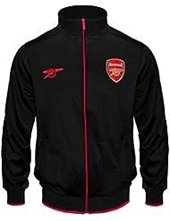 Arsenal FC officiel - Veste de survêtement de football - garçon - style rétro