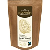 Sevenhills Wholefoods Cacao En Polvo Orgánico De Comercio Justo 1kg