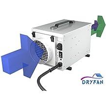Ecor Pro DryFan®8 Deshumidificador Desecante DH800 8 litros