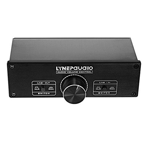 Shiwaki Tragbarer Zweikanal Surround Audio Lautstärkeregler Für Stereo Verstärker