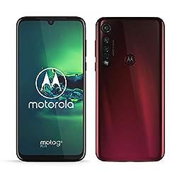 Motorola Mobility PAGE0003DE moto g8 plus Dual-SIM Smartphone (6,3 Zoll-Max Vision-Display, 48-MP-Quad-Pixel-Triple-Kamera, 64 GB/4 GB, Android 9.0) Rot