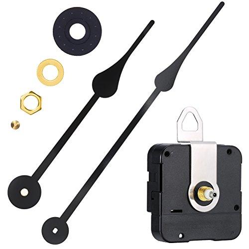 Mecanismo de Movimiento de Reemplazo de Reloj de Alto Par con Agujas de Reloj Adecuado para Esferas hasta 56 cm/ 22 Pulgadas de Diámetro