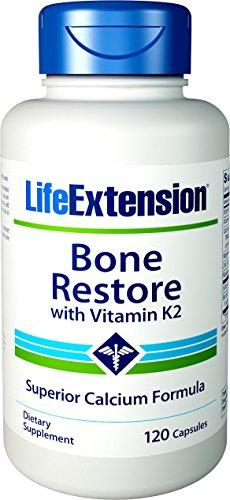 Life Extension, Bone Restore mit Vitamin K2, 120 Kapseln