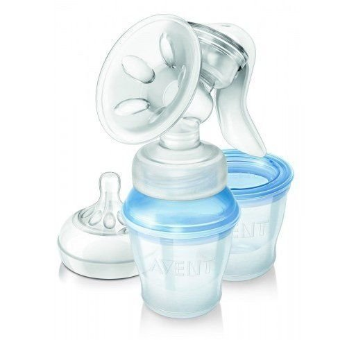 Philips Avent Natural Comfort Manual Breast Pump with 3 Storage Cups Scf330/12 Good Gift for Mom and Baby Fast Shipping Ship Worldwide by Philips AVENT