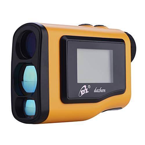 Huiiv Golf Rangefinder 600m Handheld Rangefinder 4 Modi mit externem LCD-Adjustable Fokussiermodus Nebelmode-Distanzkompensation, ideal für die Jagd, Golf und Ingenieurvermessung