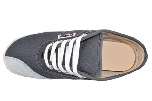 Kawasaki Unisex Sneaker Basic Canvas All White - GRAU (DARK GREY, 644)