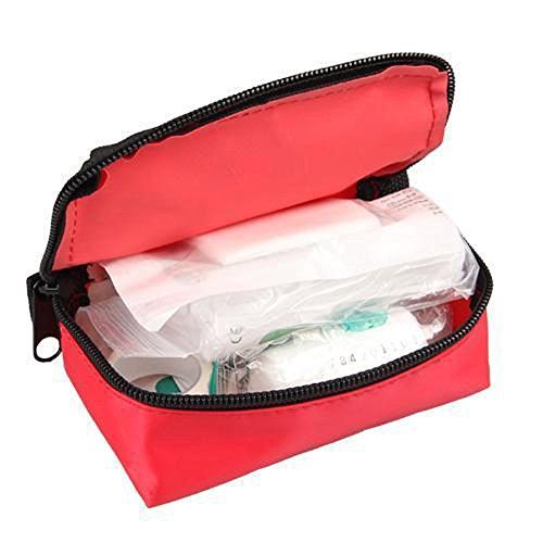 Verbandtasche, Shsyue Tragbar Erste Hilfe Medizinische Tasche für Reise, Haushalt, Camping, Auto Rot