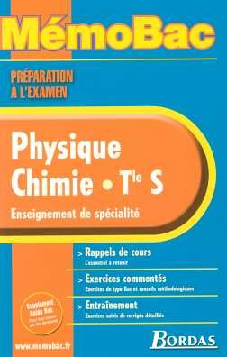 MEMO PREPA EXAM PHYSIQUE CHIMIE SPE (Ancienne Edition)
