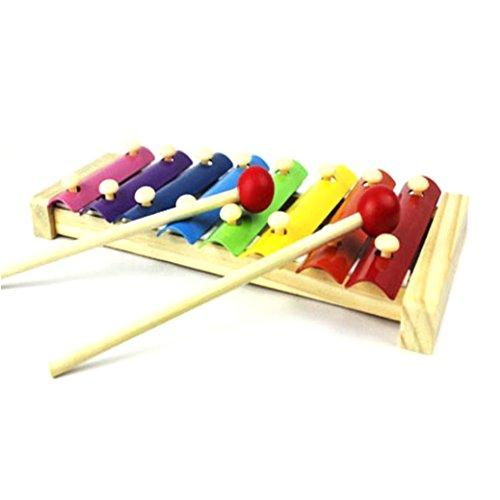 Bébé Jouets musicaux Xylophone, Fami Sagesse Development Instrument en bois