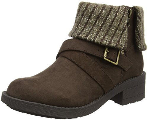 Rocket Dog Damen Tobie Kurzschaft Stiefel Brown (Coast/Charlie Brown)