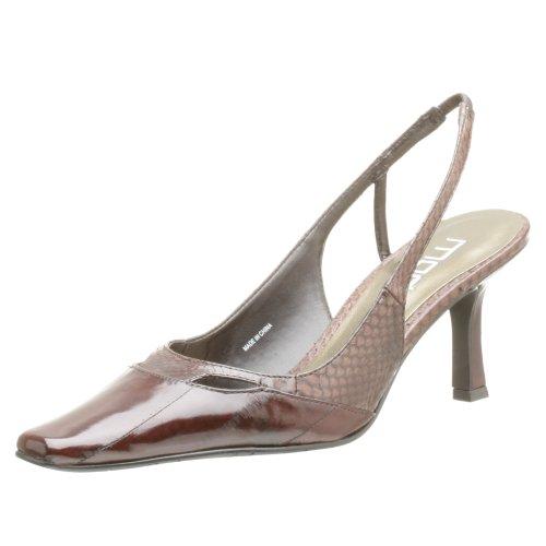 Pelle Moda Gali Femmes Cuir Sandales Compensés Beige