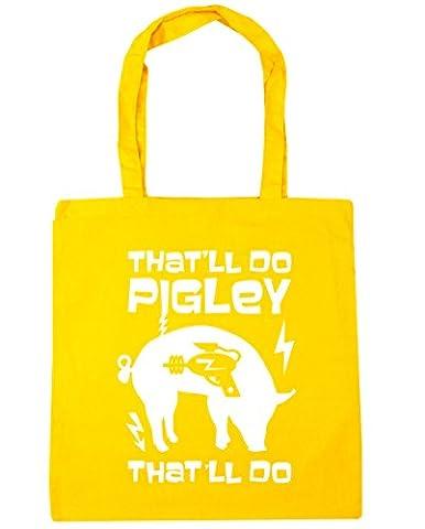 hippowarehouse That 'll do pigley That 'll do Krieger Zitat Tote Shopping Gym Beach Bag 42cm 3838, 10Liter Gr. Einheitsgröße, (Sterling Martial Arts)