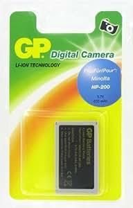 GP Batterie de type Minolta NP-200 pour Appareil Photo Numérique Minolta