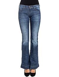 Maison Scotch Femme 10078044 Bleu Coton Jeans