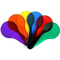Delaman 6pcs Kids Learning Montessori Pintura Color Match Cognición Batir Entrenamiento Juguetes