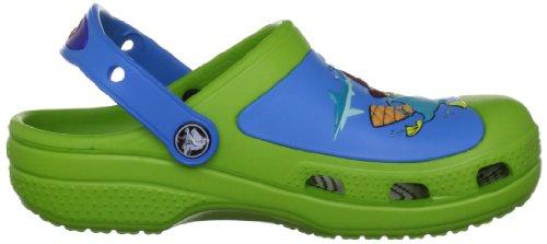 Crocs Cc Phineas & Ferb Clog Kids, Sabots mixte enfant Vert (Volt Green/Ocean)