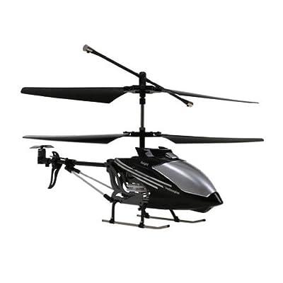 Takira i-Helicóptero RC radio control remoto aplicación i-Helicóptero para iOS y android (iPhone, RC, infrarojos, android, 3 frecuencias transmisión 3 pilotos, niños a partir de 14 años) de Takira