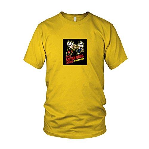 os Game - Herren T-Shirt, Größe: XXL, Farbe: gelb (Beat Box Kostüm)
