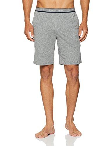 Marc O\'Polo Body & Beach Herren Mix M-Bermuda Schlafanzughose, Grau (Grau-Mel. 202), X-Large