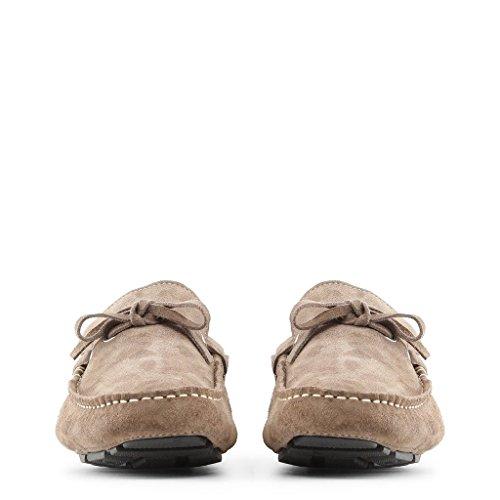 Made in Italia - PIETRO Mocassins Homme Glisser Sur Loafer Chaussures Marron