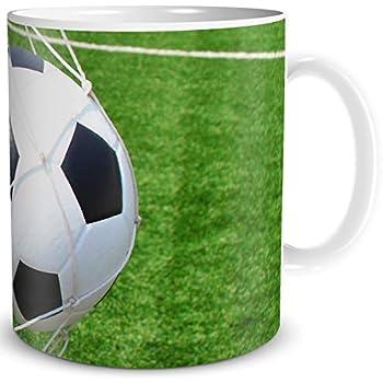 Ball /& Kickschuhe zum Spielen Sport Kaffeebecher Fussball inkl
