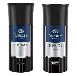 Yardley London Elegance Deodorant For Men 150-ML (Pack of 2)