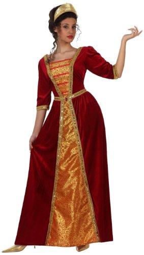 Atosa 10139 - Verkleidung Prinzessin Mittelalter, Größe (Femme Moyen Kostüm Age)
