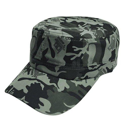Chapeau plat Hip Hop, MEIbax 2018 Nouveau design Hommes Femmes Camouflage Outdoor Escalade Cap Casquette de baseball Hip hop Chapeau de chapeau de danse