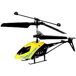 Malloom RC 901 2CH Mini helicóptero Radio Control Remoto Aviones Micro 2 Canales