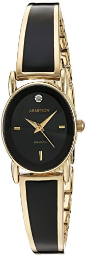 armitron-womens-75-5423bkgp-diamond-accented-dial-gold-tone-and-black-bangle-watch