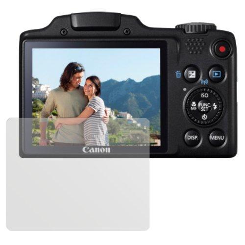 dipos I 6X Schutzfolie matt passend für Canon Powershot SX 510 Folie Displayschutzfolie