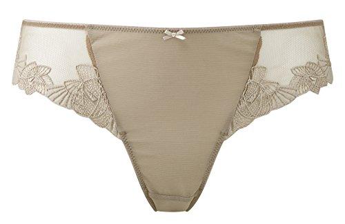 Panache Damen Taillenslip Semi-Opaque Weiß