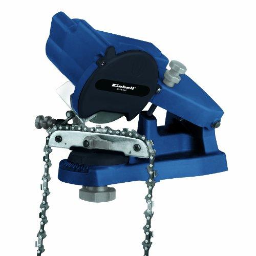 Einhell BG-CS 85 E - Afilador para cadenas (85 W) color azul