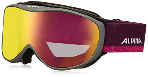 Alpina Challenge 2.0 Skibrille, Anthracite, One Size