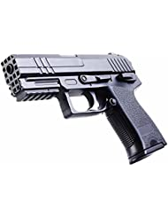 REPLIQUE PISTOLET A BILLES 15.5 CM SPRING ABS NOIR ELITE SERIES 0.3 JOULE 50521 AIRSOFT