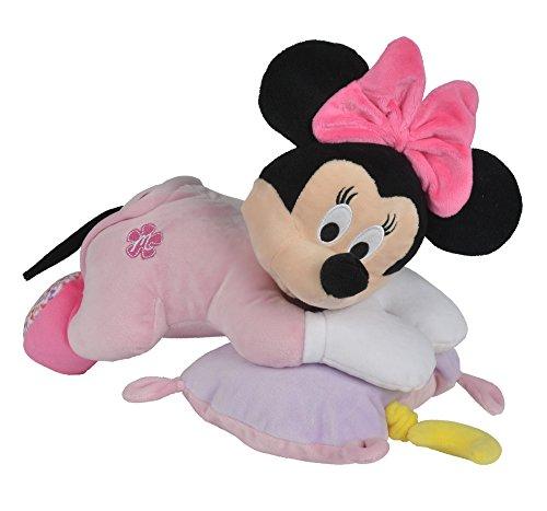 Simba 6315874812 - Disney Minnie Maus, Musikspieluhr, 35 cm, rosa (Disney Baby Minnie Maus)