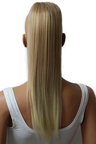 PRETTYSHOPHaarteil Zopf Pferdeschwanz Haarverdichtung Haarverlängerung VOLUMINÖS 55cm blond mix #28T513 PH510