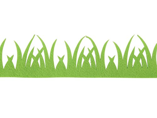 meindekoartikel Gras Band Grün 4cmx2Meter (Gras Band Grüne)