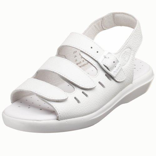 Propet Breeze Walker Donna US 13 Bianco Larga Sandalo